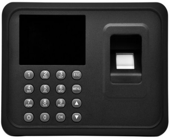 Fingerprint time attendance with USB port